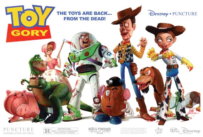 Toy Story Zombie